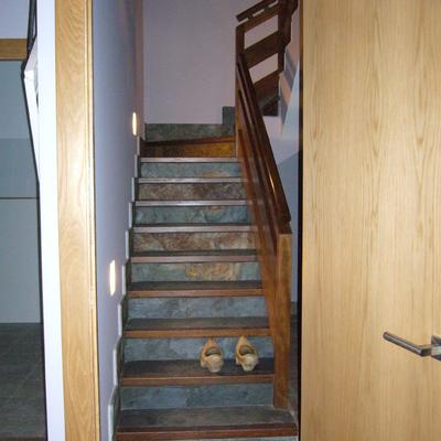 Creación de escalera en vivienda unifamiliar