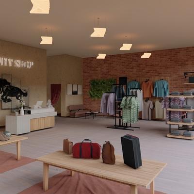 Diseño tienda de ropa Vanity Interior Vista 4