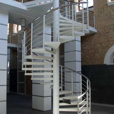 7- Escalera de caracol