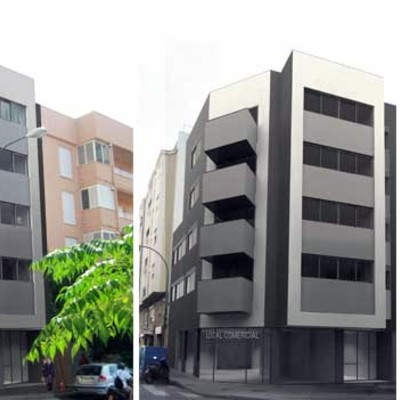 7 viviendas y local comercial en Palma de Mallorca