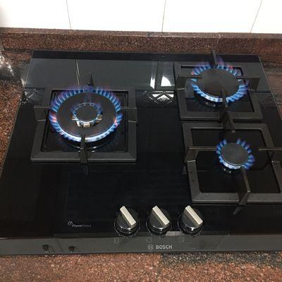 Instalación cocina a gas Bosch