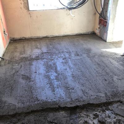 encascado,  nivelación piso