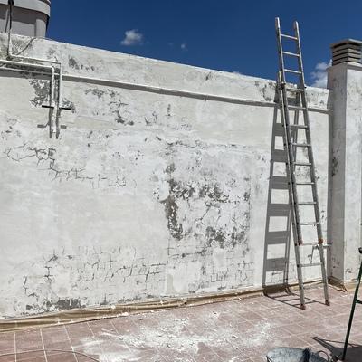 Muro deteriorado