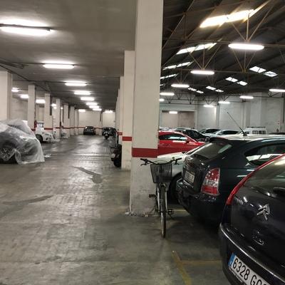 Garaje, antes de la renovación