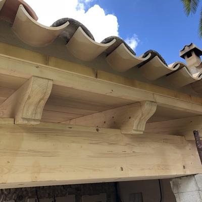 Detalle de tejado