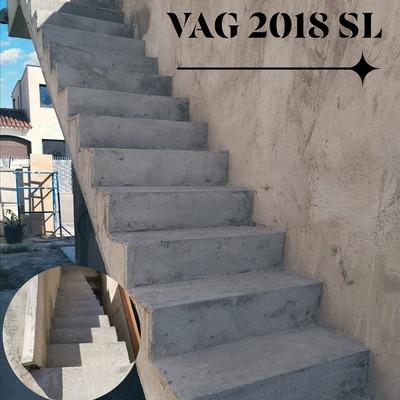escalera de hormigón exterior para revestir