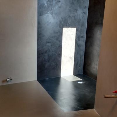 Plato de ducha combinación de colores