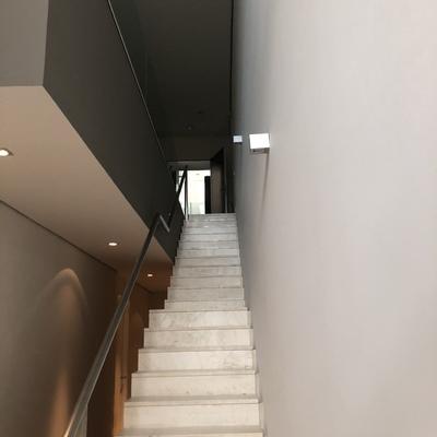Pintura de tramo de escalera