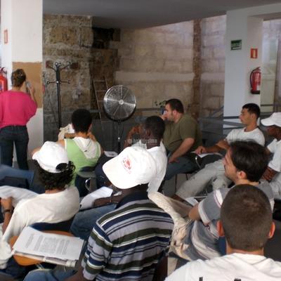 Curso impartido en el Imfof - Palma de Mallorca - http://www.pinturadecor.com/2009/01/curso-en-palma.html