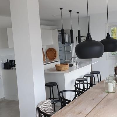Salón y cocina unidos
