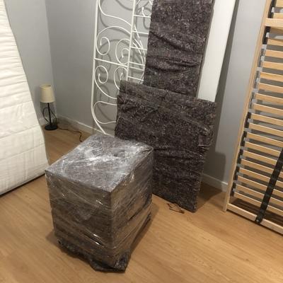 Embalaje y previa para carga