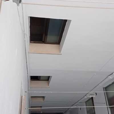 Patio interior trabajos verticales