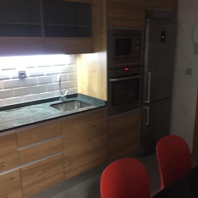Reforma, muebles de cocina y electrodomésticos