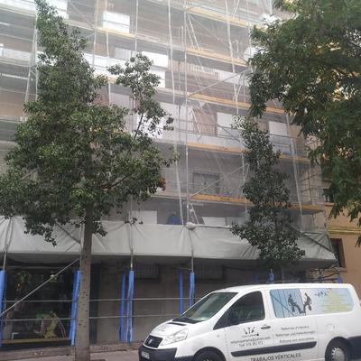 Reabilitacion fachada Barcelona