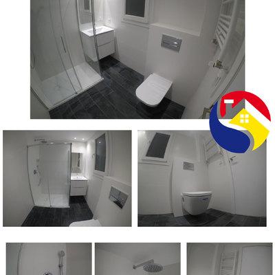 baño grande