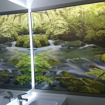 Espejo y cuarto de baño particular