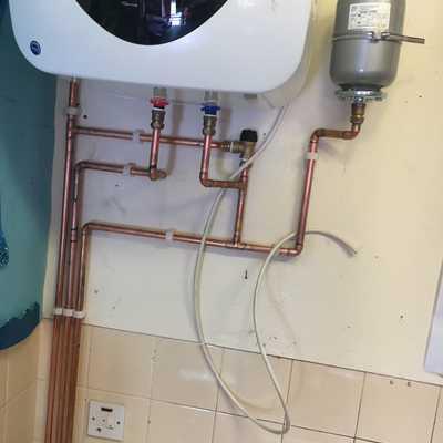 Instalacion calentador