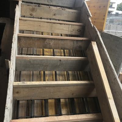 Encofrado escalera