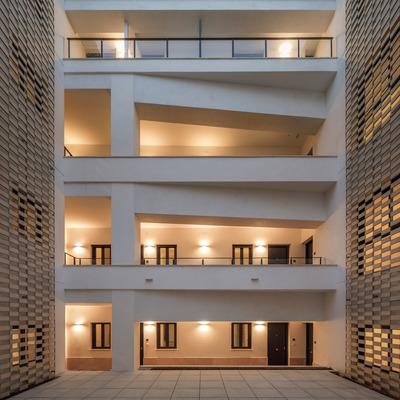 Edificio de apartamentos turísticos en el centro de Sevilla