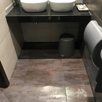 Resultado limpieza lavabos