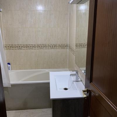 Reforma de baño así quedó