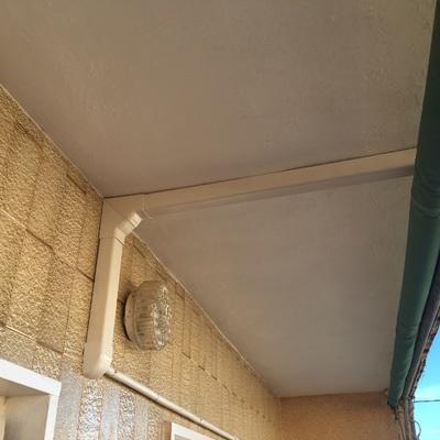 Instalación por techo