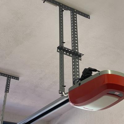 Soportes al techo para motor puerta de garaje