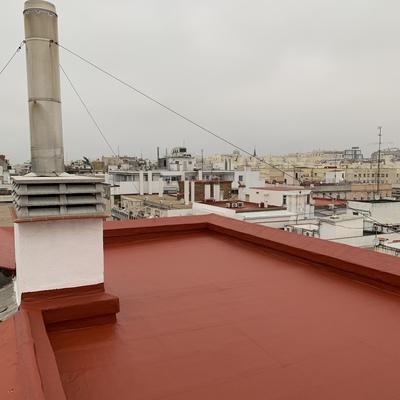 Terminación de terraza