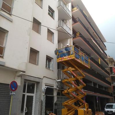 Reformas fachada Calafel