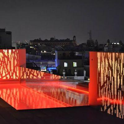 Piscina e Iluminación terraza