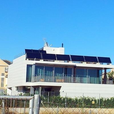 9 paneles en vivienda unifamiliar torrrevieja.