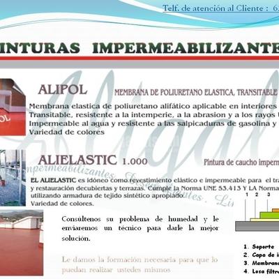 Impermeabilizaciones, Productos Químicos, Impermeabilización