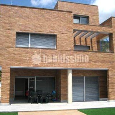 Construcción casa aislada