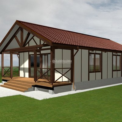 Casas en madera la bassa valencia - Casas de madera valencia ...