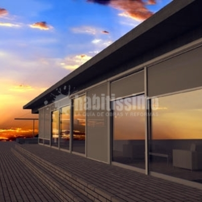 Estores de exterior Windscreen