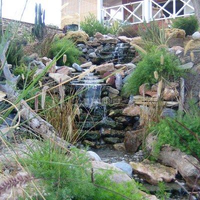 Paisajistas, jardines, artículos decoración