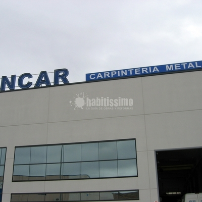 Carpintería Aluminio, Carpintería Pvc, Vidrio