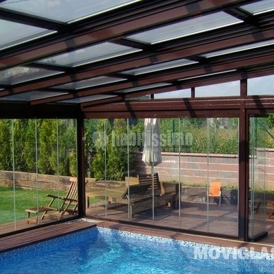 Alu red cerramientos de terraza en aluminio y cristal castell n de la plana - Cristalerias en castellon ...