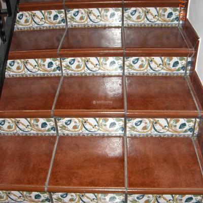 Revestido de escaleras