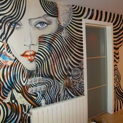 mural vivienda particular