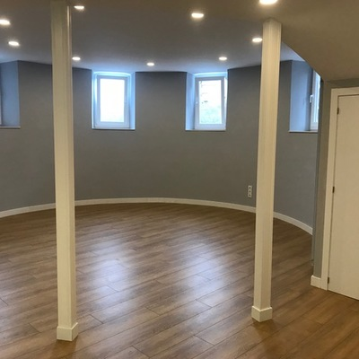 Salón circular rehabilitado