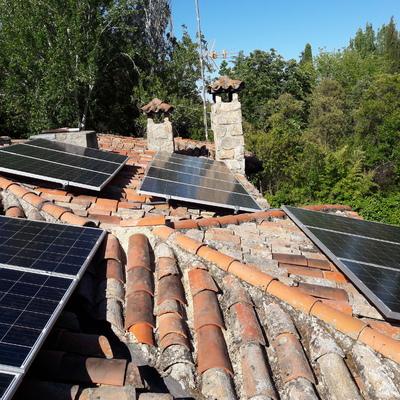 Instalación placas solares, Boadilla del Monte, Madrid