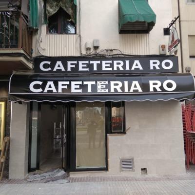 Toldo Cafetería