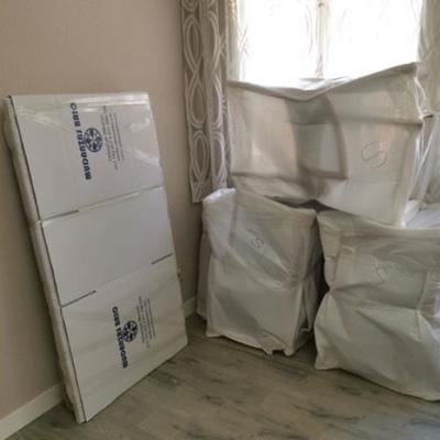 Siempre que haga falta embalamos los muebles para que lleguen intactos
