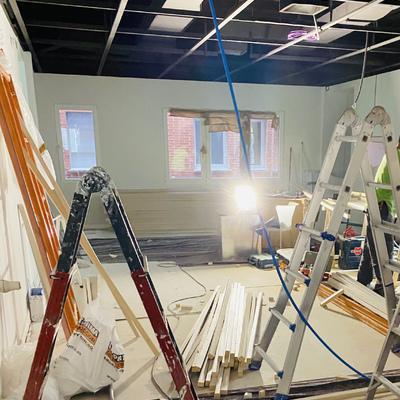 Proyecto  falso techo de madera