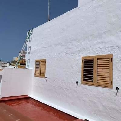 Pintura en fachadas y azoteas
