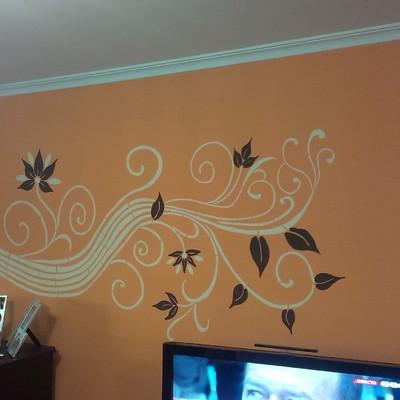 Acabado decorativo Mural