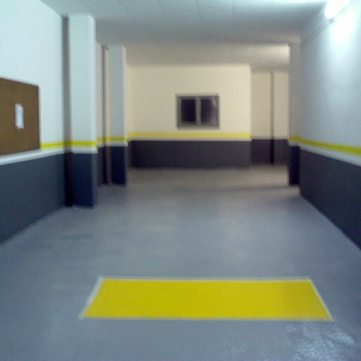 ACCES PARKING. REPARACIO + PAVIMENT EPOXI