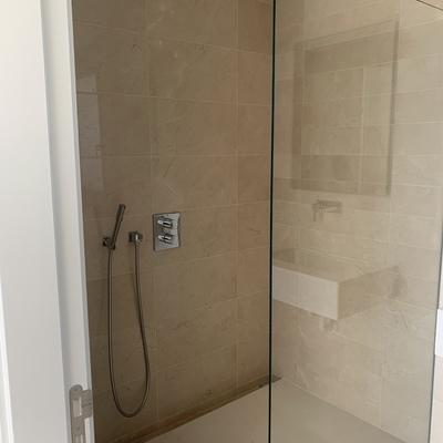 Platos de ducha alicatado