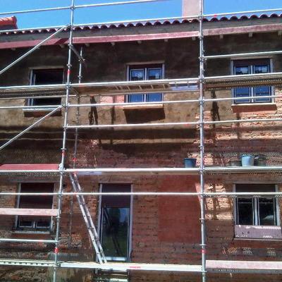 acondicionamiento de fachada posterior